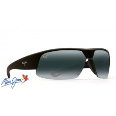 Maui Jim Switchbacks sunglasses with Matte Black Rubber Frame and Neutral Grey Lens
