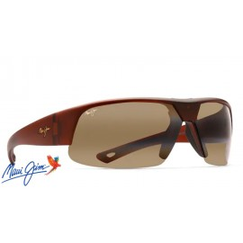 Maui Jim Switchbacks sunglasses with Matte Rootbeer Frame and HCL Bronze Lens